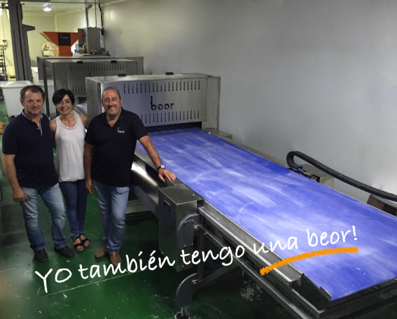We continue installing Ciabatta lines, this time at Valladolid.