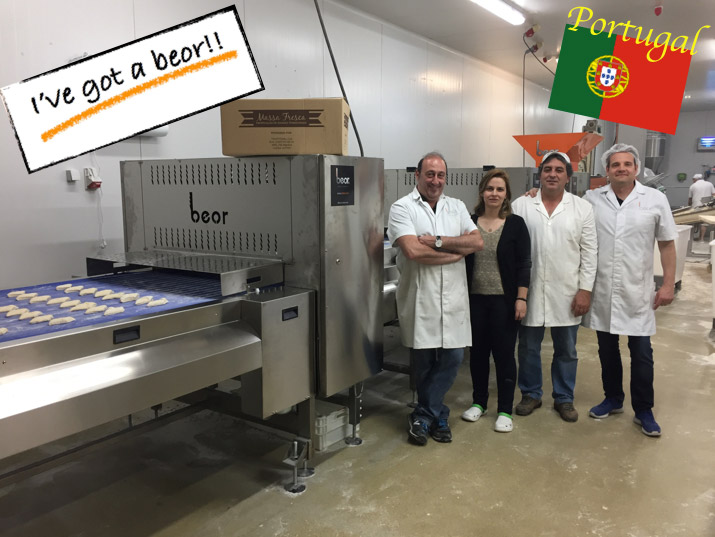 We continue installing Ciabatta lines, this time at Portugal