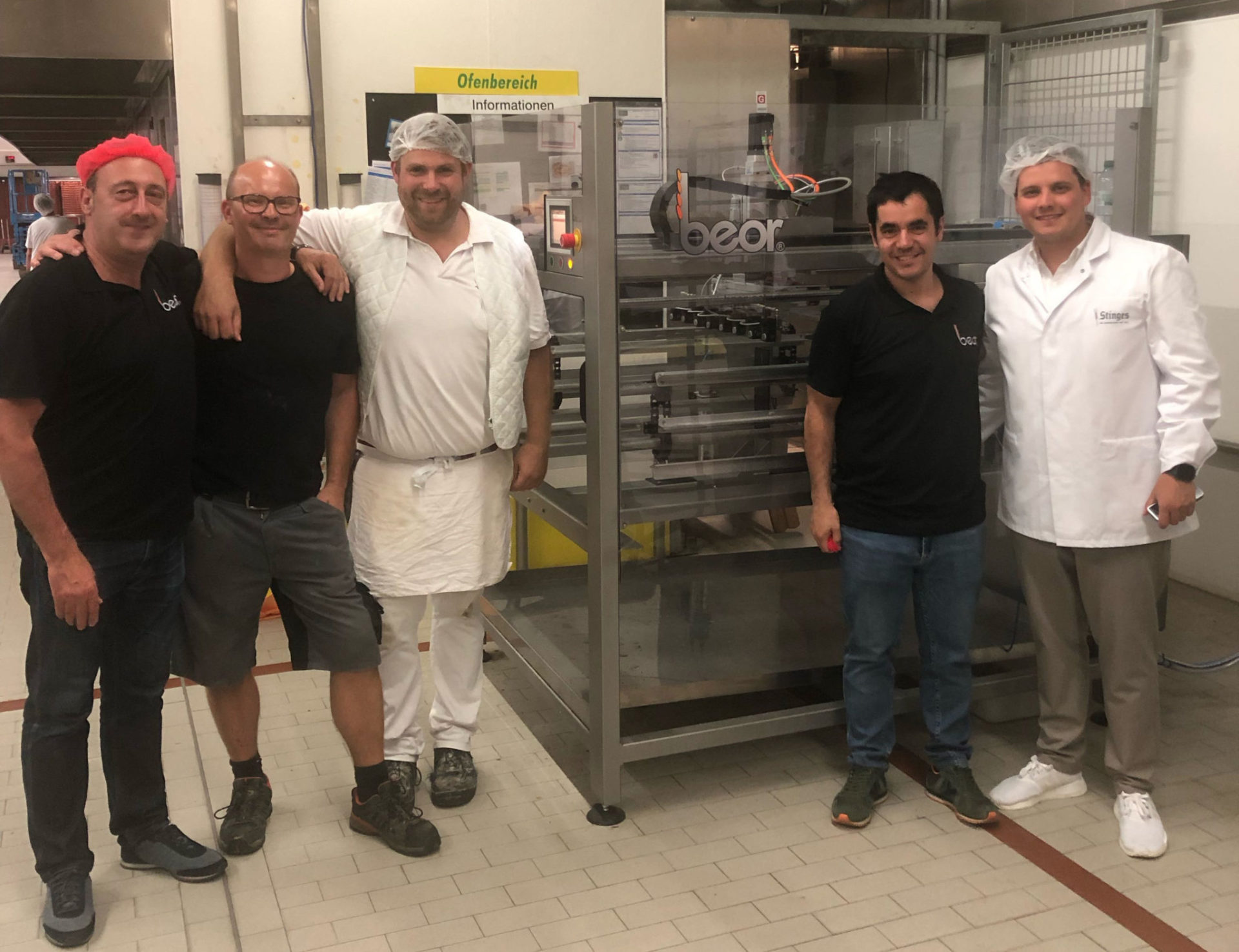 Nueva 'CompactLeo' instalada en Stinges, Alemania